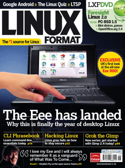 Cover of Linux Format Magazine Edition 106